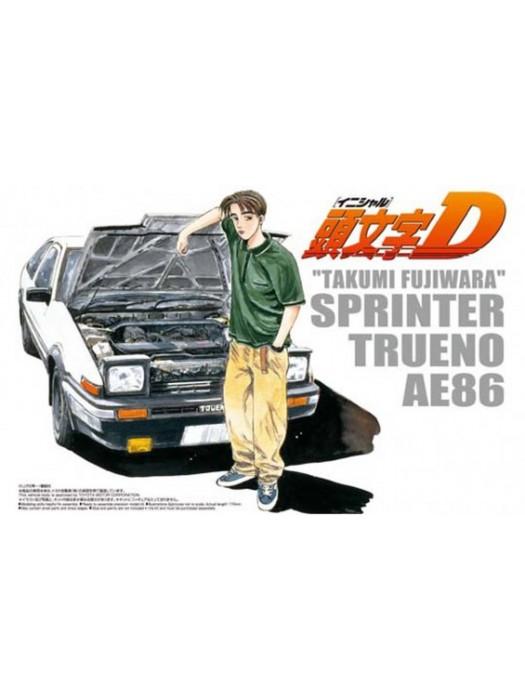 Aoshima 1/24 Sprinter Trueno AE86 4905083003206