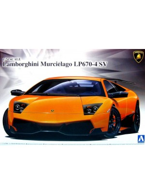 Aoshima 1/24 Lamborghini Murcielago Lp670-4 SV 4905083007068