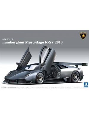 Aoshima 1/24 Lamborghini Murcielago R-SV 2010 4905083007105