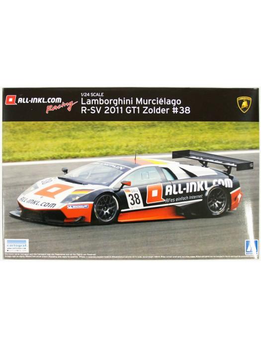 Aoshima 1/24 Lamborghini Murcielago R-SV 2011 GT1 Zolder #38 4905083007143