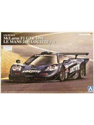 Aoshima 1/24 McLaren F1 GTR 1998 LE MANS 24H LOCTITE #41 4905083007457