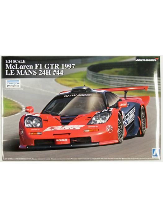 Aoshima 1/24 McLaren F1 GTR 1997 LE MANS 24H #44 4905083007464