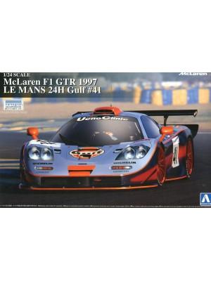 Aoshima 1/24 McLaren F1 GTR 1997 LE MANS 24H Gulf #41 4905083007471