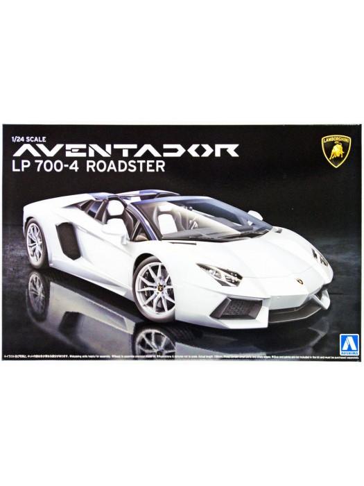 Aoshima 1/24 Lamborghini Aventador Lp700-4 Roadster 4905083008652