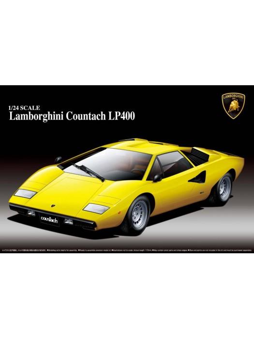 Aoshima 1/24 Lamborghini Countach LP400 4905083046708