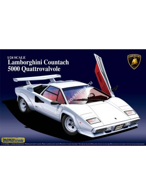 Aoshima 1/24 Lamborghini Countach 5000 Quattrovalvole 4905083048818