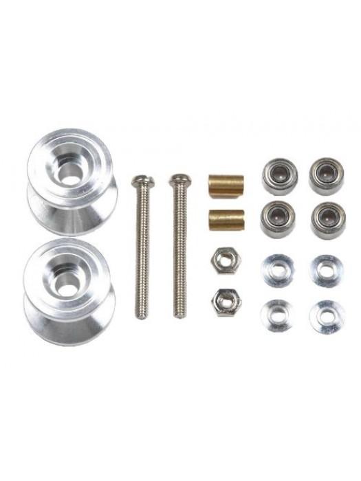 Tamiya 15398 Two-tier Aluminum Roller Set (13-12mm) 4950344153985