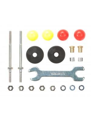 Tamiya 15408 Long Low Friction Plastic Roller Set 13mm 4950344154081
