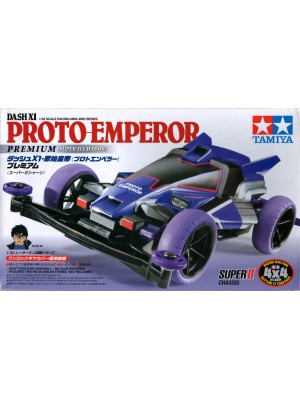 TAMIYA 18074 DASH-X1 PROTO-EMPEROR PREMIUM (SUPER-II CHASSIS) 4950344180745