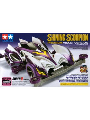 TAMIYA 95036 SHINING SCORPLON PREMIUM VIOLET VERSION (SUPER-II CHASSIS) 4950344950362