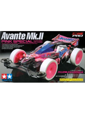 TAMIYA 95061 AVANTE MK.II PINK SPECIAL CLEAR BODY (MS CHASSIS)