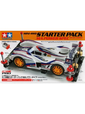 TAMIYA 95211 MINI 4WD STARTED PACK MA POWER SPEC (BLAST ARROW) 4950344952113
