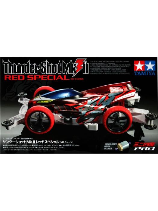 MINI 4WD 四驅車 THUNDER SHOT MK.2 RED SP MA 4950344952120