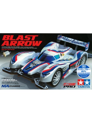TAMIYA 95217 BLAST ARROW CLEAR BLUE BODY (MA CHASSIS) 4950344952175