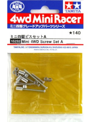 Tamiya 15232 Screw Set A 4950344998586