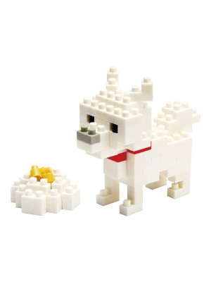 nanoblock NBC_005 Hokkaido Dog