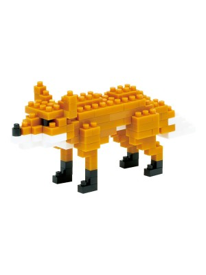 nanoblock NBC_076 Fox