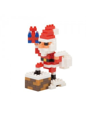 nanoblock NBC_127 Santa Claus on the Chimney