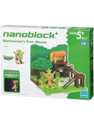 Nanoblock PP-002 寵物小精靈 哈力馬龍樹屋