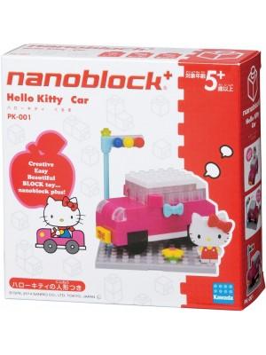 Nanoblock  PK-001 Hello Kitty 車