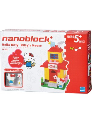 Nanoblock  PK-003 Hello Kitty 小屋