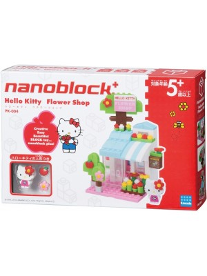 Nanoblock  PK-004 Hello Kitty 花店