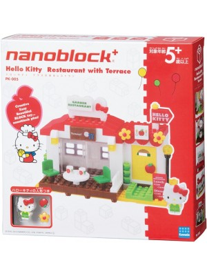 Nanoblock  PK-005 Hello Kitty 陽台餐廳