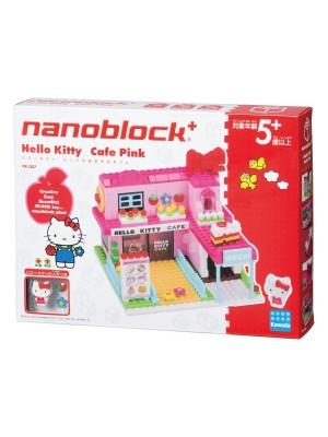 Nanoblock  PK-007 Hello Kitty 粉紅咖啡店