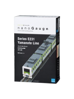 Nanoblock Nanogauge Ngt_005 Train Collection Series E231 Yamanote Line Authentic