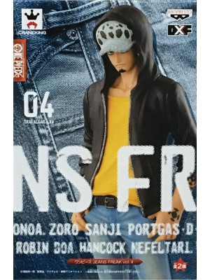 BANPRESTO DXF ONEPIECE JEANS FREAK VOL.4 TRAFALGAR-LAW 4983164361728