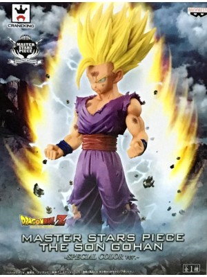 Banpresto DRAGON BALL Z MASTER STARS PIECE THE SON GOHAN -SPECIAL COLOR ver.-4983164362053