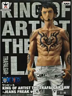 BANPRESTO ONEPIECE KING OF ARTIST THE TRAFALGAR-LAW (JEANS FREAK VER.) 4983164362664
