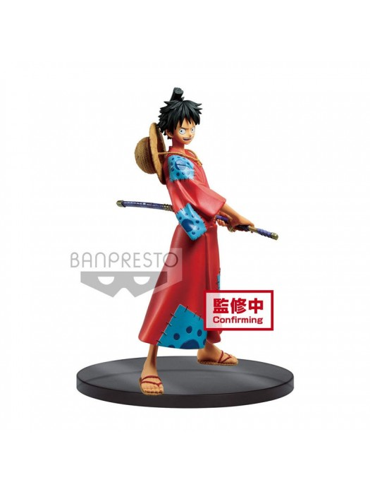 Banpresto Onepiece DXF The Grandline Men Wanokuni Vol.1 Monkey D. Luffy