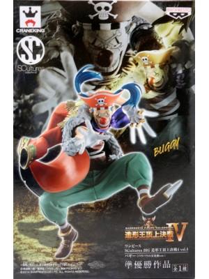 海賊王 SCUL TURES 造形頂上決戰4 VOL.4 小丑巴基