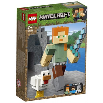 21149 MINECRAFT ALEX BIGFIG WITH CHICKEN