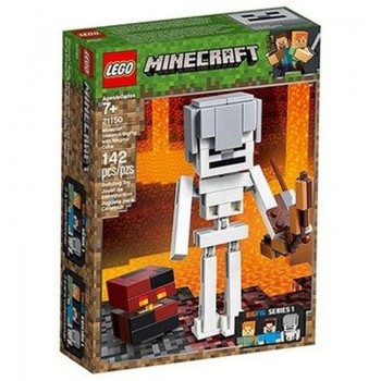 21150 MINECRAFT SKELETON BIGFIG WITH MAGMA CU