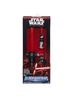 Star Wars The Force Awakens Kylo Ren Deluxe Electronic Lightsaber 630509331499
