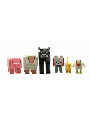 Minecraft Overworld Animal Mobs set (6 pcs)