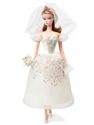 Barbie Collector Fashion Model Bride Dress