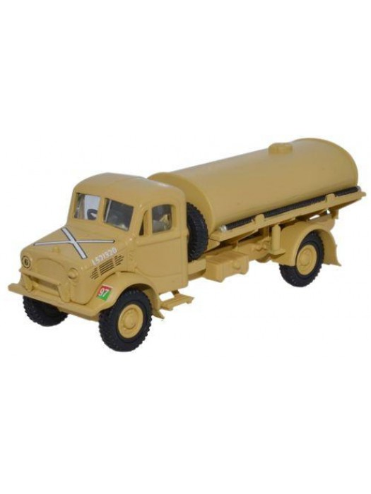 76BD007 HQ Corps RASC Bedford OY 3 Ton Water Tanker