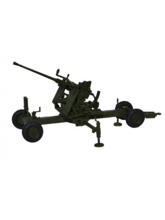 76BF002 Olive Drab 40MM Bofors Gun - 1:76 Scale
