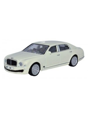 76BM001 Bentley Mulsanne White