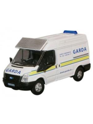 76FT007 Garda Ford Transit SWB Med. - 1:76 Scale