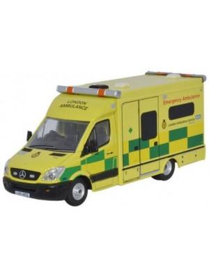 76MA002 Mercedes Ambulance London