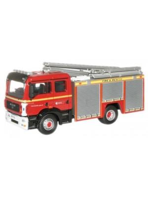 76MFE001 Avon Fire and Rescue MAN Pump Ladder