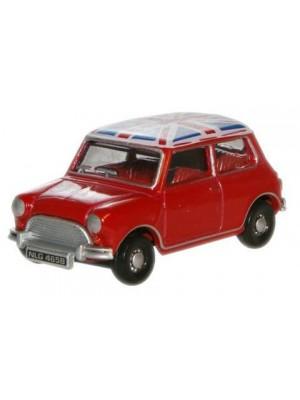 76MN001 Tartan Red/Union Jack Austin Mini