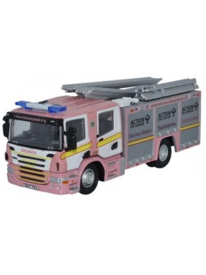 76SFE008 Merseyside Pink F and R Scania CP31 Pump Ladder