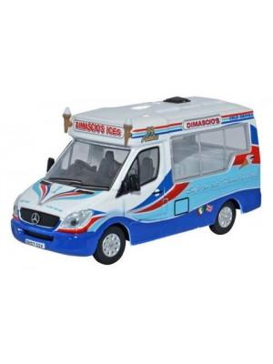 76WM002 Dimascio's Whitby Mondial Ice Cream Van