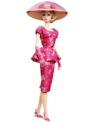 2015 Fashionably Floral Silkstone Fashion Model Barbie #CGK91 NRFB Gold Label