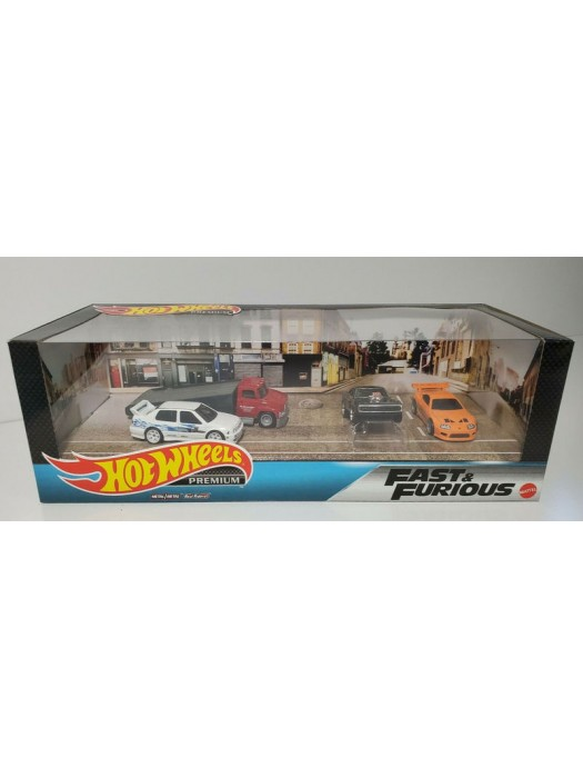 Hot Wheels Premium Fast And Furious Set 887961854718